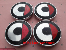 4pcs new W205 60mm Car Emblem Badge Wheel Hub Caps Centre Cover SMART Fortwo Forfour Roadster Forjeremy Forspeed Forstars For-us(China)