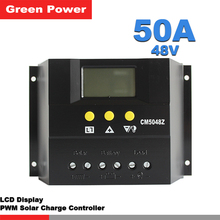 CMP50A PWM 50A 48V solar charge controller,solar regulator for solar panel system use.