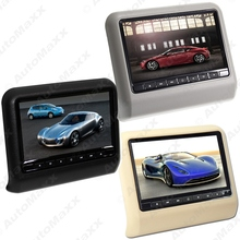 9 Inch Car Hanging Behind Headrest DVD Player Built-in Game+ IR+Slot-in 3-Color #J-3858