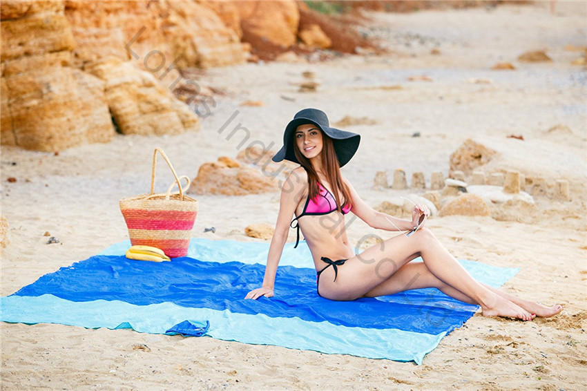 Sand Escape Compact Outdoor Beach Blanket mat new stlye18