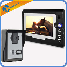 New Hot Home Security 7 inch TFT LCD Monitor Video Door phone Intercom System With Night Vision Outdoor Camera IN Stock