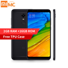 Pre-Sale Xiaomi Redmi 5 2GB 16GB Mobile Phone 18:9 Full Screen Display Snapdragon 450 Octa Core MIUI 9 Fingerprint Only English(China)