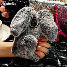 Buy AKABEILA Silicon Cases Alcatel U5 Case Rabbit Hair Bling Diamond Anti-knock Covers Alcatel U5 4G 5044 5044D 5044Y Cover for $7.47 in AliExpress store