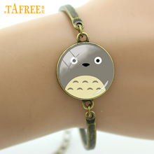 Buy TAFREE Lovely Totoro Inspired Large Face jewelry Leisure series essential Wholesale Retro ethnic style women kids Bracelet B322 for $1.24 in AliExpress store