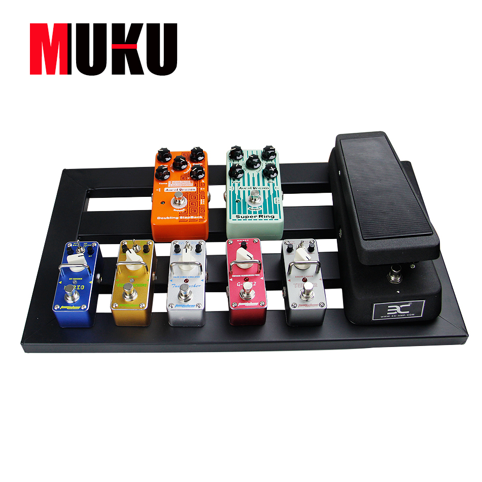 Guitar Parts &amp; Accessories MUKU guitar effect pedal board high quality 4 models to choose <br>
