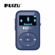 2018 New Arrive Original RUIZU X26 Sport MP3 Player 8GB Clip Mini With Screen Can M,E-Book,Clock,Data Bluetooth Music MP3 Player(China)