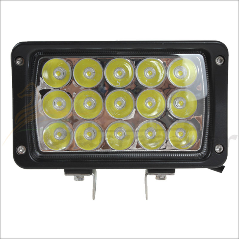 3300LM 45W 15 x 3W Waterproof Offroad Car LED Work Light Lamp Bar with Epistar LEDs for Motorcycle / Tractor / Boat / SUV / ATV<br>