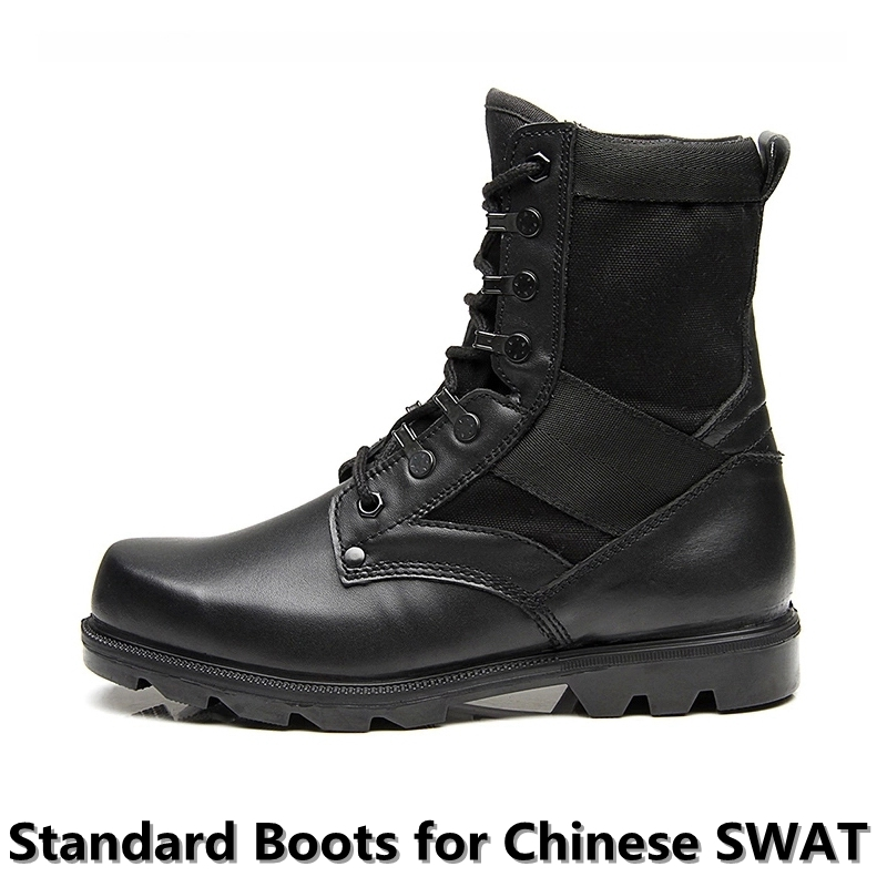 Authentic Chinese SWAT Tactical Boots Military Men Tactical Boots Trekking Hiking Camping Army Swat Boots Mountain Jungle Huntin<br><br>Aliexpress