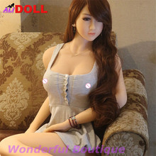 158cm Japan Woman 100% Real Silicone Sex Doll Realistic Soft Big Fat Ass Normal Or Huge Boobs Love Dolls For Man Free Shipping(China)