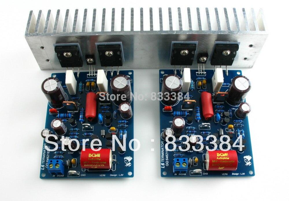 LJM- L6 Power amplifier kit --DIY AMP kit  free shiping<br>