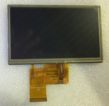 "5.0""INCH  lcd display WITH TOUCH PANEL screen matrix FOR Prestigio GeoVision 5000 5055 5466 gps Replacement Free Shipping"