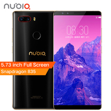 Nubia Z17S Z17 S Full Screen Mobile Phone Snapdragon 835 6/8GB RAM 64/128GB ROM 5.73 inch Android 7.1 Dual Front Rear Cameras(China)