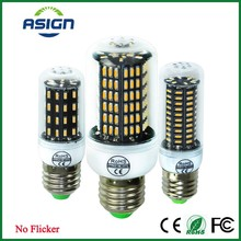LED Bulb Lamp E14 E27 Real No Flicker/Strobe Smart Power IC Design LED Corn Bulb High Lumen 4014 SMD 220V 38 55 78 88 140 LEDs