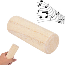 Early Educational Percussion Musical Instrument 10cm Mini Cylindrical Shaker Rattle Rhythm Instrument Gift for Baby Kid Child(China)