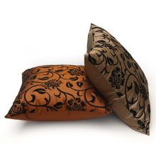 Promotion Wholesale 4pcs  pillow cover cushion 45*45cm man-made silk cushion cover 2013  without filler