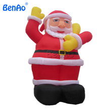 X089 Christmas Inflatable Santa Claus 5mH + Repair Kits + Blower commercial outdoor Christmas inflatable Santa for advertising(China)