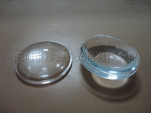 power LED lens diameter 35mm Plastic Plano Convex  lens,led optical lens,Led reflector lens