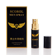 Men Spray Pill for Men Premature Ejaculation Long Time Delay Spray, Massage & Relaxation Herbal Enlargement Essential Oil(China)