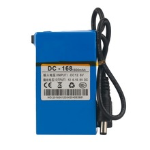 DC 12V 1800MAH Super Capacity 1800MAH Rechargeable Li-ion Battery Replacement Li-ion Battery For CCTV Camera Drop Shipping