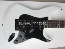 Free shipping wholsale ERMIK ST WHITE COLOR BRAND electric guitar/guitar china(China)