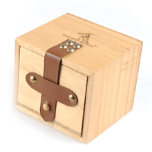 BOBO BIRD Gift Watch Box Solid wooden box Top Quality Square Jewelry Set Storage Box Jewelry Box Wood Colors Available(China)
