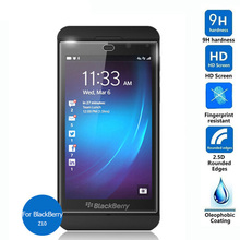 For Rim BlackBerry Z10 Tempered Glass Screen Protector 2.5 9h Safety Protective Film on Laguna STL100-3 4G STL100-2 STL100-1 Lte