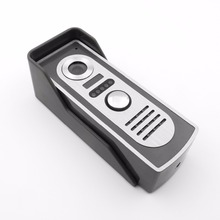 zinc alloy waterproof colorful Full HD Ir night vision surface mount wired door phone intercom video com outdoor camera 1 pcs