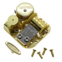 High Quality Gold Plated DIY Music Box Movement Wind Up Clockwork Music Box Movement