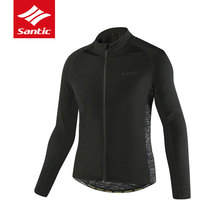 Buy Santic Mens Breathable Cycling Jerseys Winter Thermal Fleece MTB Road Bike Long Sleeve Jacket Windproof Warm Bicycle Clothing for $32.82 in AliExpress store