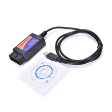 2017 New ELM327 USB Interface OBDII OBD2 Diagnostic Auto Car Scanner Scan Tool Cable For Toyota Nissan Mazda Honda  Ford
