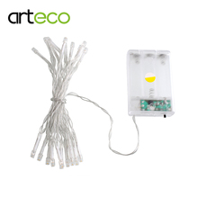 Battery operated 2m 20LEDs LED string colorful LED Fairy string light decorating party garden Christmas Holiday etc.