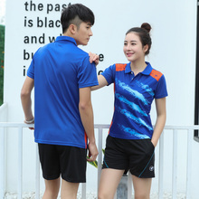 New Badminton sets Men/Women's ,Table Tennis sets, sports Dry-cool badminton clothes ,Tennis wear sets AY009(China)
