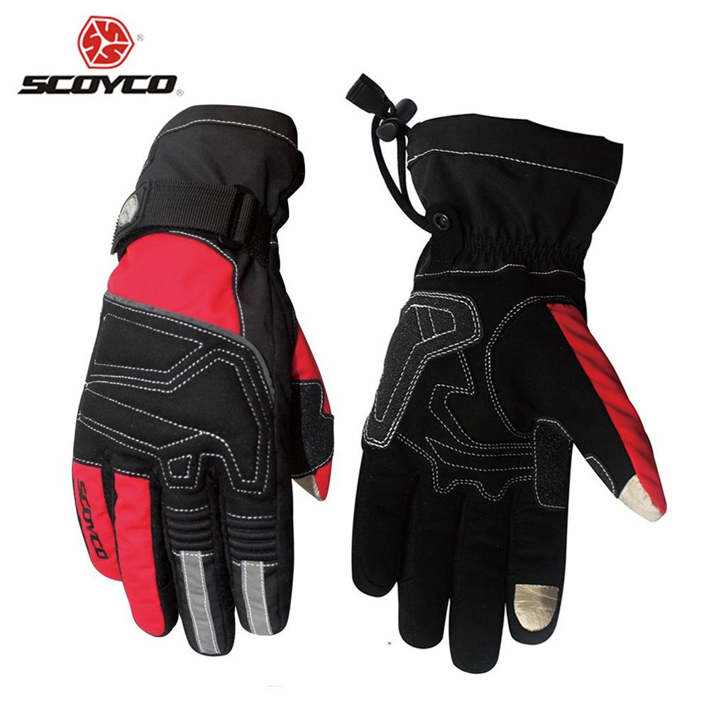 SCOYCO Motorcycle Riding Touch Screen Gloves Winter Ski Snowboard Snowmobile Racing Gloves Waterproof Windproof Warm uantes<br><br>Aliexpress