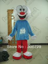 export high quality NO.4300 round head doll mascot costumes ball mascot costumes  baseball costume