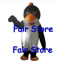 Restaurant Penguin Cook Mascot Costume Adult Penguin Cook Cartoon Mascotte Outfit Suit Fancy Dress FREE SHIP SW286
