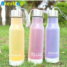 450ml Double Wall Plastic Bottle For Water Sports Water Bottle BPA free Direct Drinking Water Bottle(China)