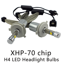 OCSION P70 H4 LED Lamp Headlight 55w 6600lm 5000k 6000k H4-3 Automotive Headlights Hi/Lo Beam Motorcycle Headlamp H7 H11 HB3(China)