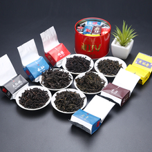 6 Kinds Taste Chinese Spring tea set Dahongpao Red Tea 48g Wuyi Natural Health Care Products Da Hong Pao Black Tea Oolong Tea