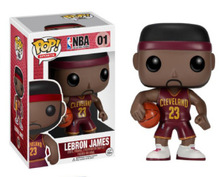 Funko pop Official LeBron James NBA Basketball Super Star Player Vinyl Figure Bobble Head James COLLECTION VERSION Hot(China)