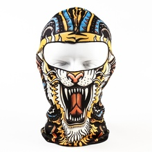 Unisex Full Face Mask Motorcycle Cycling Balaclava Summer Sun Ultra UV Protection Printed Mask Motor Bike Cover Cap W15