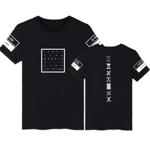 BTS KPOP Monsta X Concert Same Printed O-Neck Short Sleeve T Shirt For Women Men I.M JOOHEON Cotton T-Shirt Couple Clothes S-4XL(China)