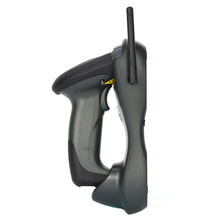 Handheld Wireless Laser Barcode Scanner Code Reader Scanner with Flash Memory Charging Bar Code Scan for POS