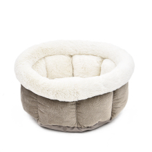Soft Cat Bed Kitten Nest Luxury Dog Kennel Puppy House High Quality Bed For Dog Cozy Kitten Cage Pet Supplies Warm Pet Mats(China)