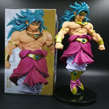 Free Shipping 8inch 20cm Dragon Ball Z Broli Anime Action Figure PVC New Collection Figures Toys Collection for Christmas Gift