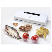 220V Full-automatic Electric Small Vacuum Sealing Machine Dry And Wet Vacuum Packaging Machine Vacuum Food Sealers(China)