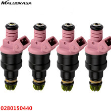 MALUOKASA 4Pcs Car Fuel Injector For BMW 328i 528i 728i Z3 M3 Repair Service Oring Filter Flow Match Auto Replacement 0280150440(China)