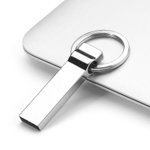 Metal Pen Drive 512GB 1TB 2TB Key Chain Metal USB 2.0 Flash Drive 8GB 16GB 32GB Memory Stick 64GB Thumb Disk / Car / Key Drives