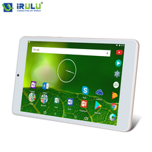 "New iRULU X5 7"" Android 7.1 Tablet Quad Core Dual Cams 1280*800 HD 1G RAM+8GB ROM Tablette 2800mAh WIFI With EN Keyboard Fashion(China)"