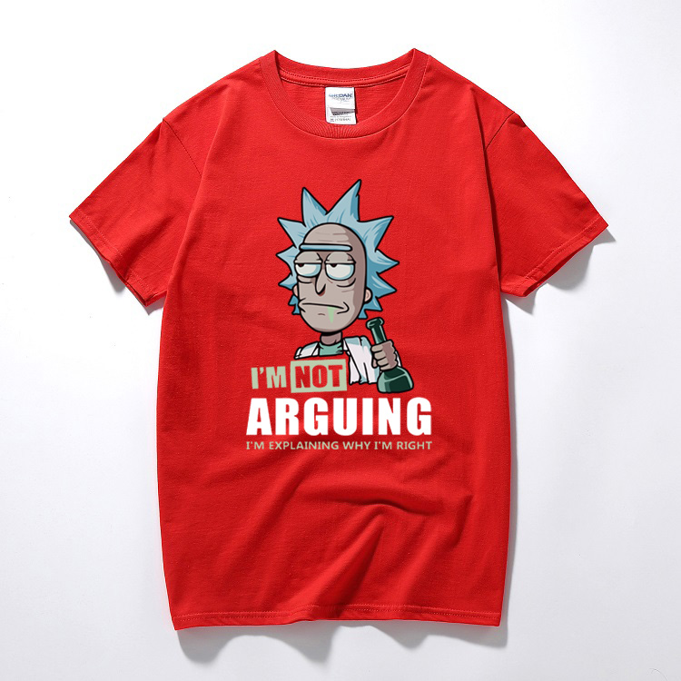 Rick and Morty I'm Not Arguing T-Shirt