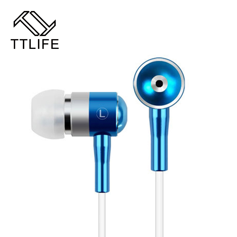TTLIFE Fashion Colorful Earphones Metal Earbuds Stereo Subwoofer Earphone Alloy Cavity Noise Cancelling Earpiece For xiaomi mp3<br><br>Aliexpress